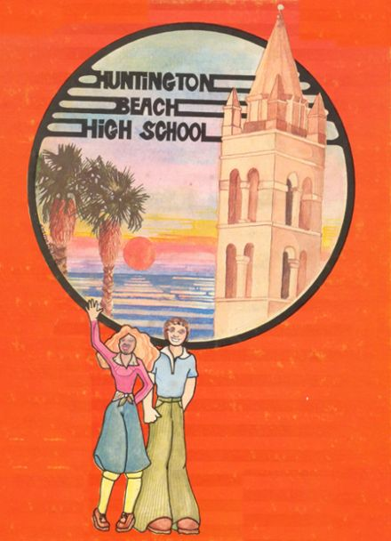 1977 Huntington Beach High School Yearbook Cover