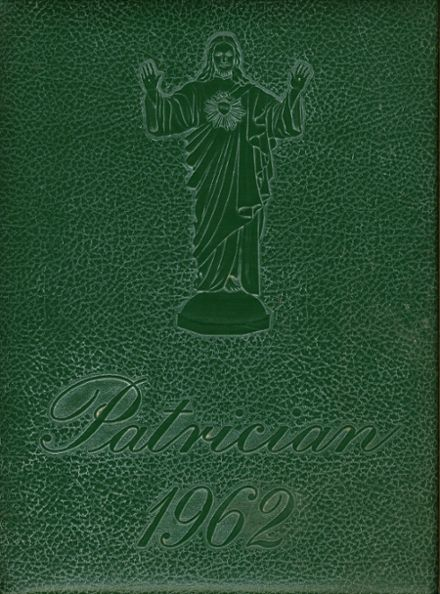 1962 St. Patrick's High School Yearbook Cover