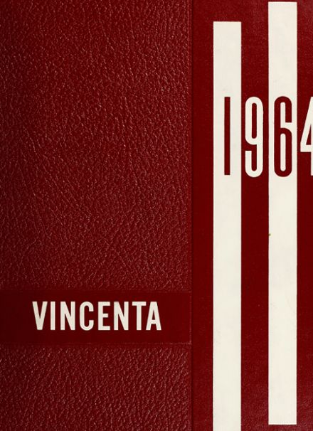 1964 St. Vincent's High School Yearbook Cover