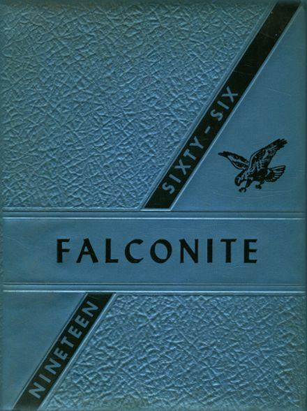 1966 Abbotsford High School Yearbook Cover