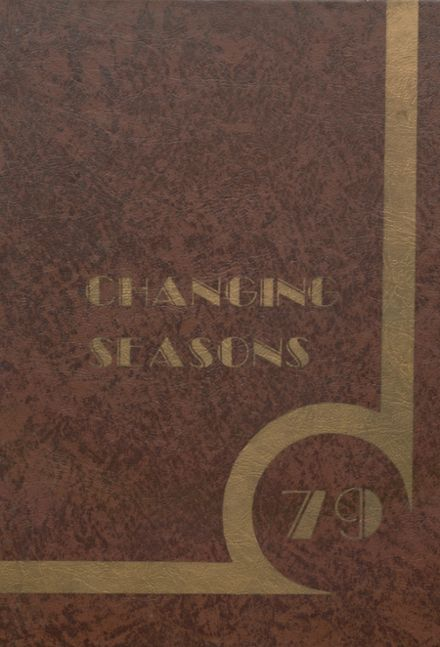 1979 McAlester High School Yearbook Cover