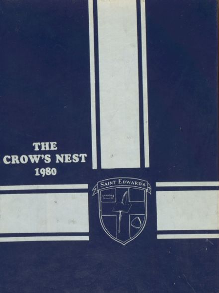 1980 St. Edward's School Yearbook Cover