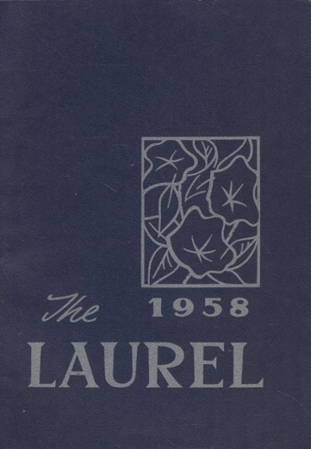 1958 Farmington High School Yearbook Cover