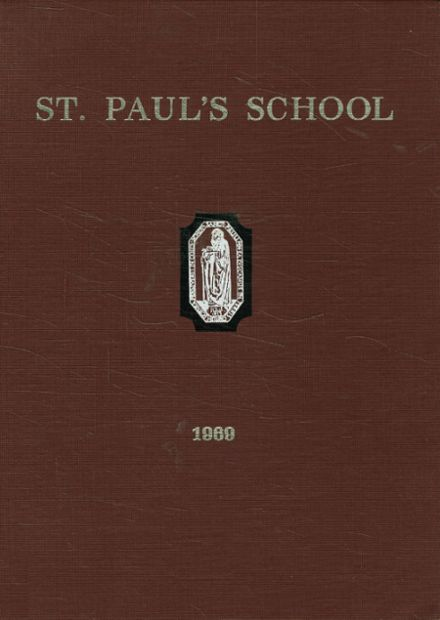 1969 St. Paul's School Yearbook Cover