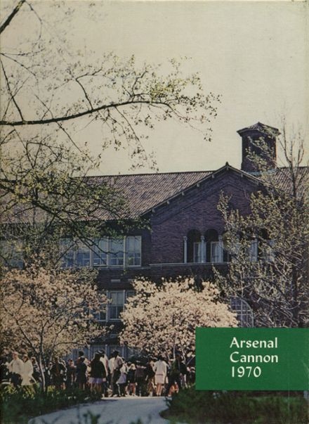 1970 Arsenal Technical High School 716 Yearbook Cover