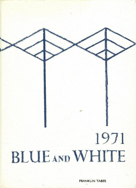1971 Davis High School Yearbook Cover