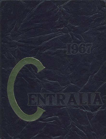 1967 Bay City Central High School Yearbook Cover