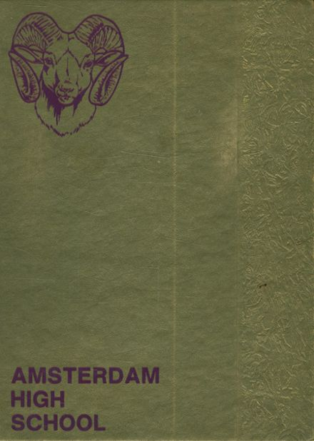 1979 Amsterdam High School Yearbook Cover