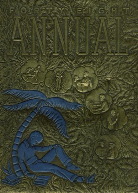 1948 St. Basil's Preparatory School Yearbook Cover