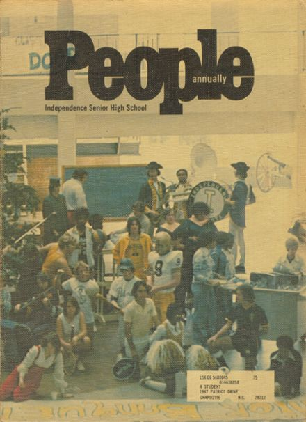 1975 independence high school yearbook cover