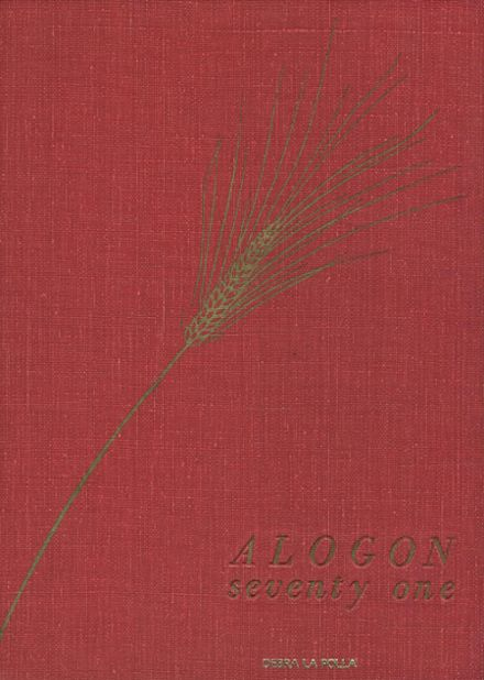 1971 Academy of St. Aloysius School Yearbook Cover