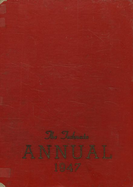 1947 Girl's Trade & Tech High School Yearbook Cover