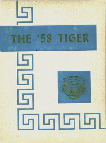 1958 Crystal Springs Consolidated High School Yearbook Cover