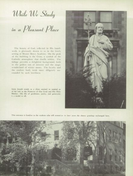 Explore 1949 mt mercy academy yearbook buffalo ny for Mount mercy email