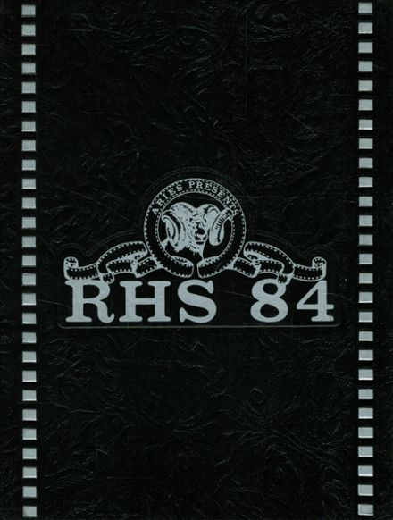 1984 Reavis High School Yearbook Cover