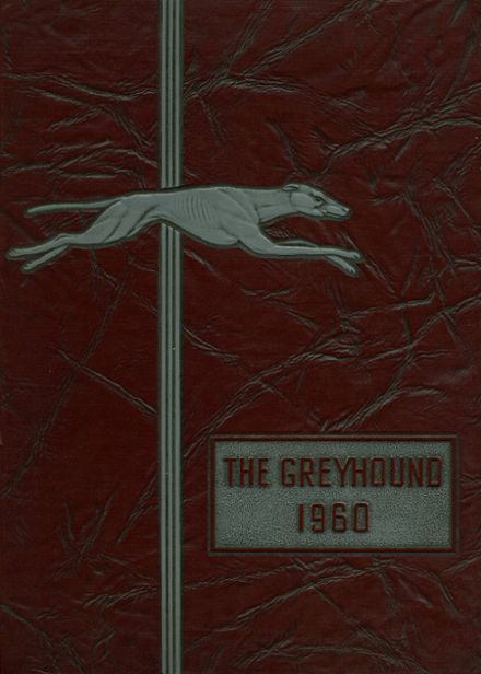1960 Naugatuck High School Yearbook Cover
