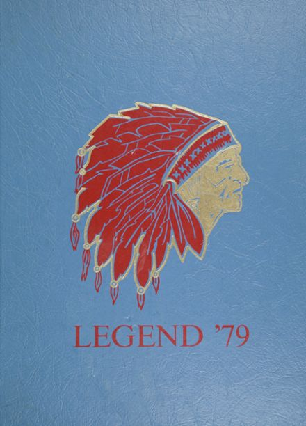 1979 Pennsauken High School Yearbook Cover
