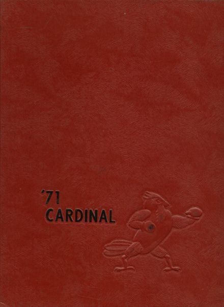 1971 East Central High School Yearbook Cover