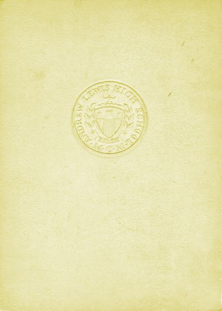 1950 Andrew Lewis High School Yearbook Cover
