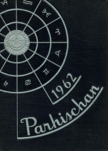 1962 Parkersburg High School Yearbook Cover