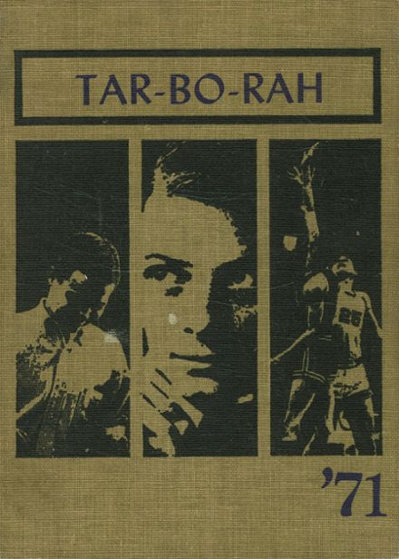 1971 Tarboro High School Yearbook Cover