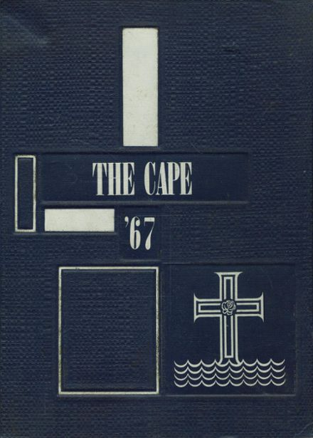 1967 St. Vincent's College Yearbook Cover