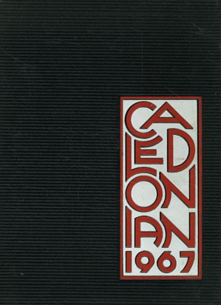 1967 Oak Hills High School Yearbook Cover