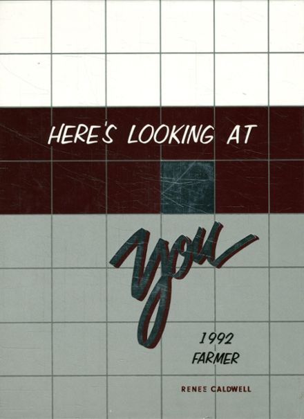 1992 Lewisville High School Yearbook Cover