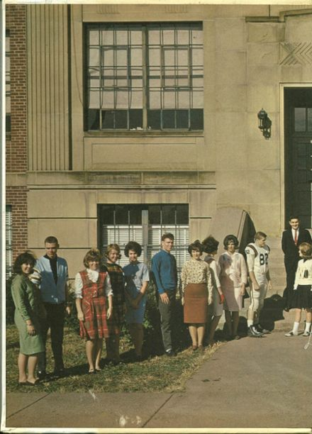 explore 1965 portsmouth west high school yearbook