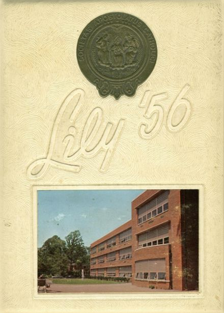 1956 St. Joseph's High School Yearbook Cover
