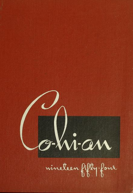 1954 Cortland High School Yearbook Cover
