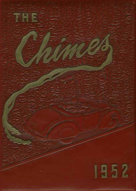 1952 St. John's Cathedral School Yearbook Cover