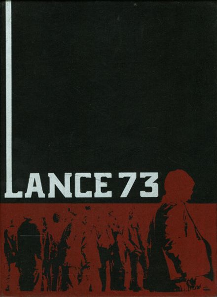 1973 St. George's School Yearbook Cover