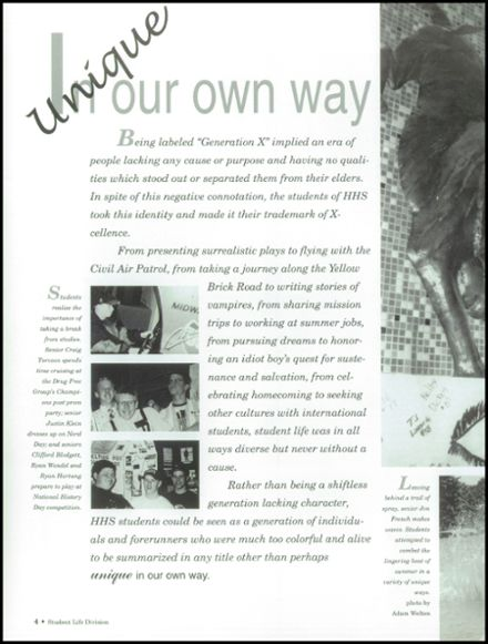 Explore 1996 hastings high school yearbook hastings ne classmates 67 1996 hastings high school yearbook page 8 publicscrutiny Choice Image