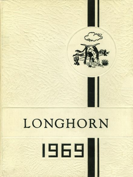 1969 Agate High School Yearbook Cover
