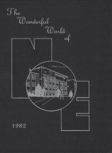 1982 Lincoln Northeast High School Yearbook Cover