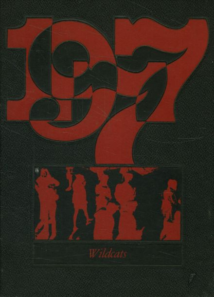 1977 Andrews High School Yearbook Cover