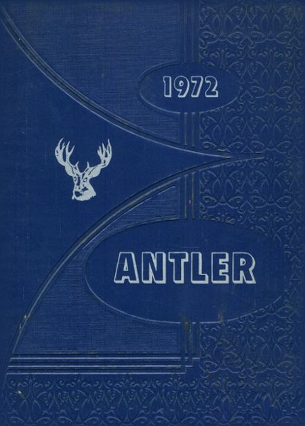 1972 White Deer High School Yearbook Cover