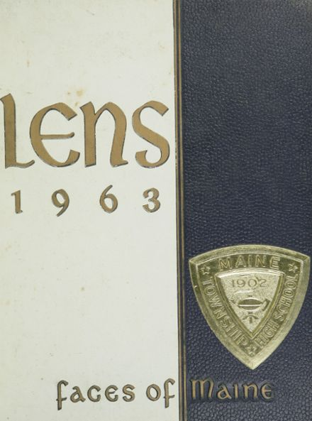 1963 Maine East High School Yearbook Cover