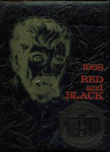 1968 Dusable High School Yearbook Cover