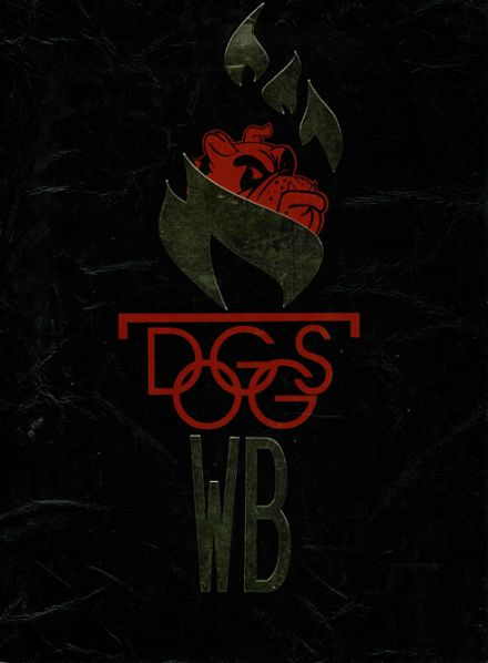1996 Winder-Barrow High School Yearbook Cover