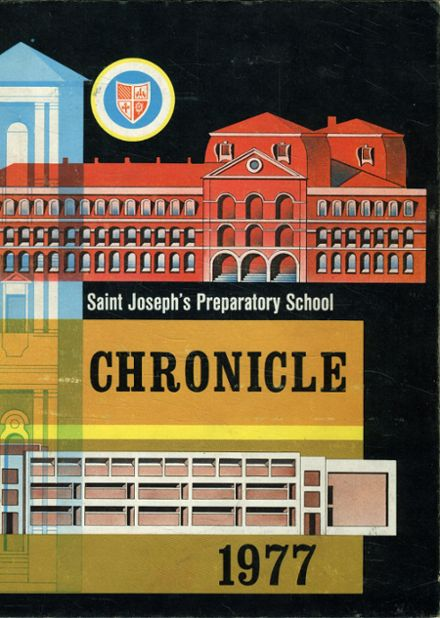 1977 St. Joseph's Prep School Yearbook Cover