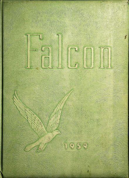 1959 Tyrone High School Yearbook Cover