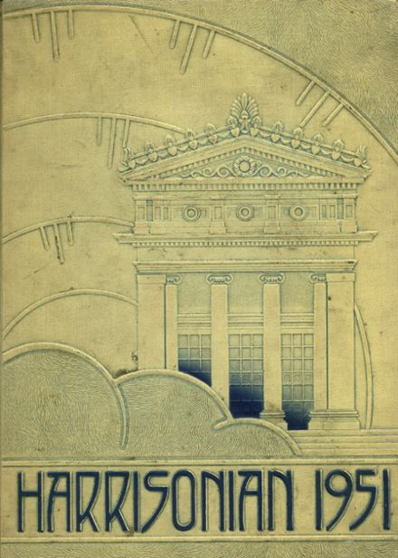 1951 Harrison Technical High School Yearbook Cover