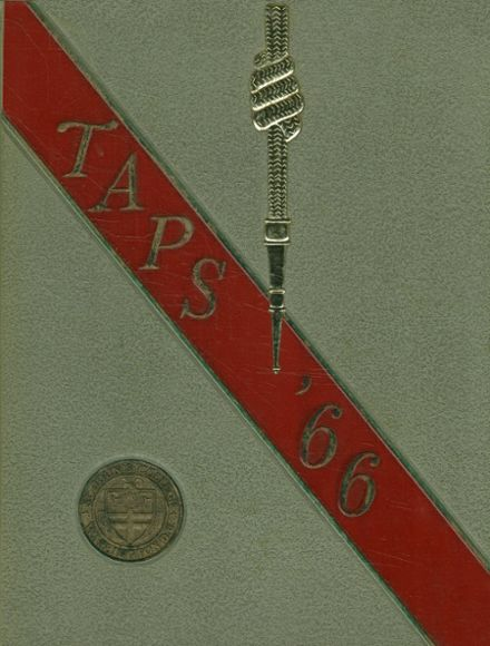 1966 St. John's College High School Yearbook Cover