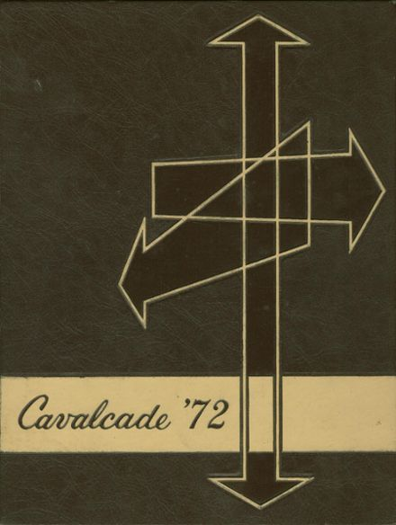 1972 Clawson High School Yearbook Cover
