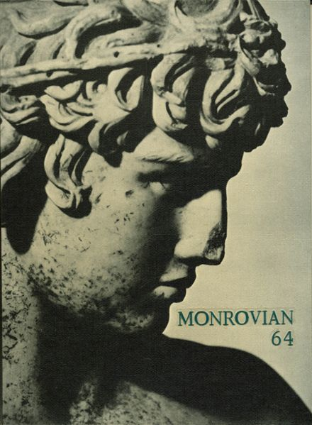 1964 Monrovia High School Yearbook Cover