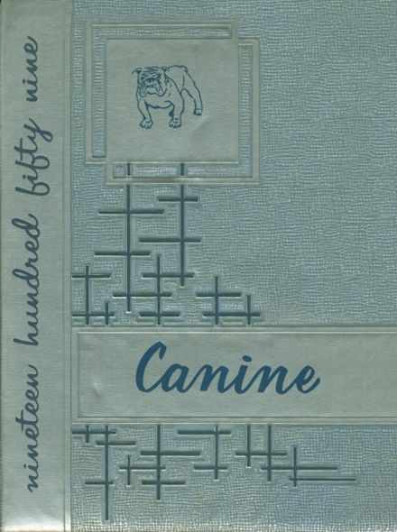 1959 Lavonia High School Yearbook Cover