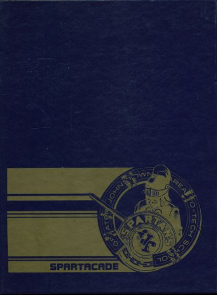 1980 Greater Johnstown Voc-Tech High School Yearbook Cover
