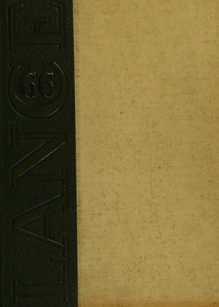 1966 St. Catherine's High School Yearbook Cover